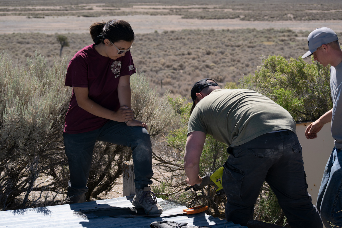 Scout to hunt conservation project